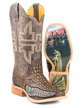 "Tin Haul 14-020-0007-0340BR     Men's ""Swamp Chomp"" Boot"