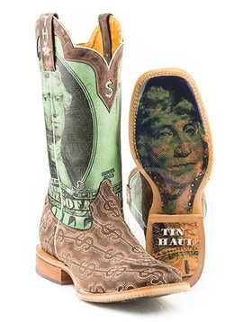 "Tin Haul 14-020-0007-0350BR  Men's ""Duece"" Boot"