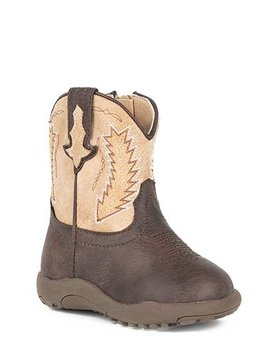 "Roper 09-016-1900-0079BR Infant""Billy"" Cowbabies Boot"