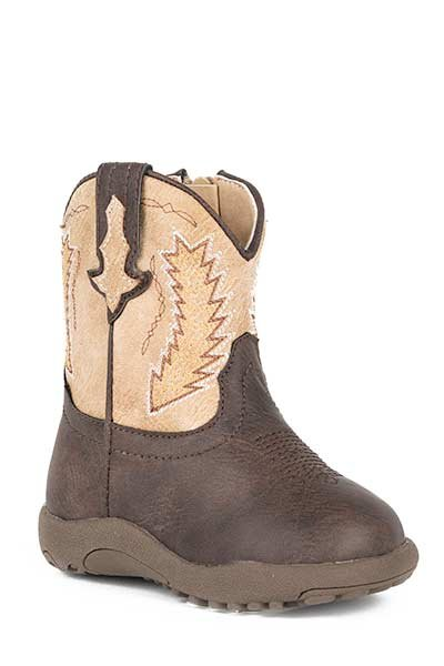 "Roper 09-016-1900-0079BR Infant""Billy"" Cowbabies Boot"