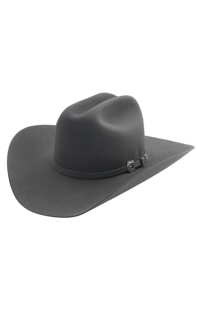 Resistol Hat Tucker 3X Wool Granite Grey RWTCKR-754049