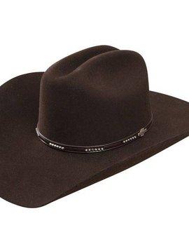 075b4011 Stetson Hat Llano 4X Wool Black SWLLNO-724207