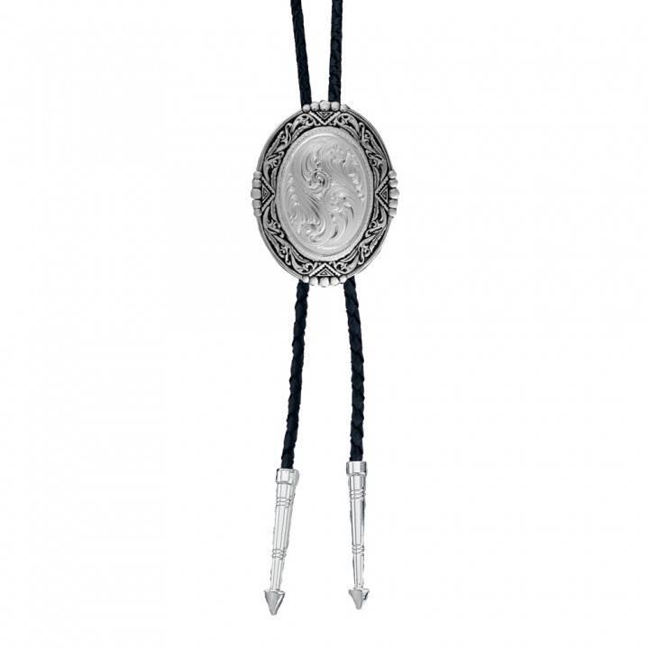 Montana Silversmith BT46 Southwestern Engraved Bolo Tie