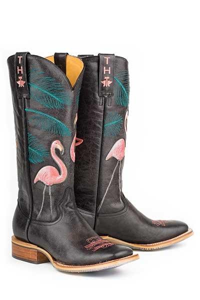 "Tin Haul ""Flamingo"" Black  14-021-0007-1214BL"