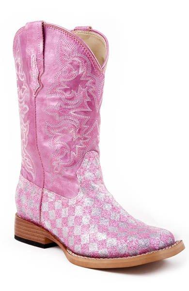 """Roper """"Glitter Check"""" Pink  09-018-1901-0028PI"""