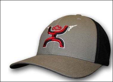 Hooey 1007GYBK  Grey Cap