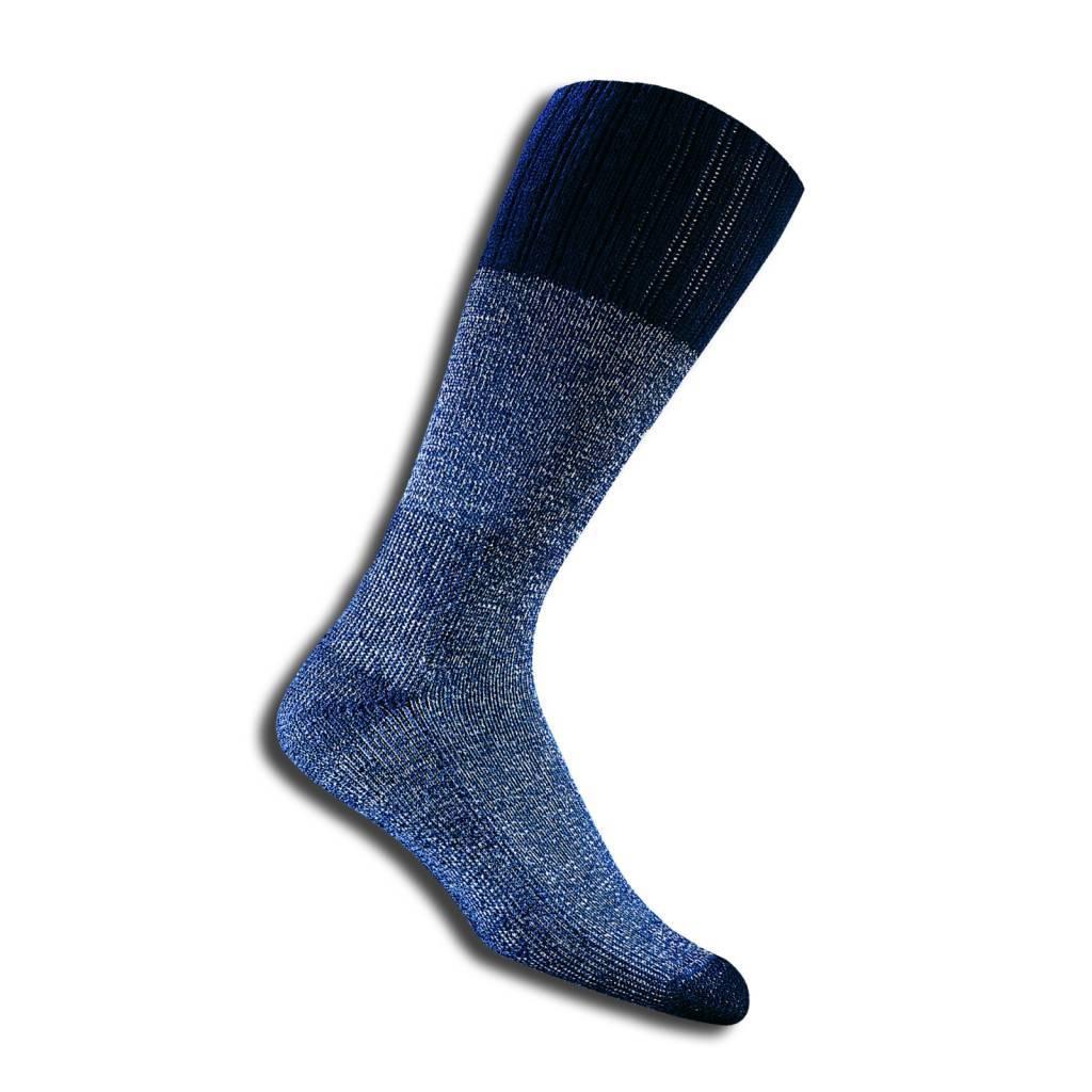 Thorlo TWW  Navy Mid Calf Boot Sock