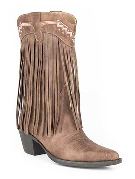 "Roper ""Fringes"" Brown  09-021-1556-0703BR"