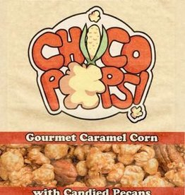 Chico Pops Chico Pops Gourmet Carmel Corn With Candied Pecans Net Wt 3 oz (85g)