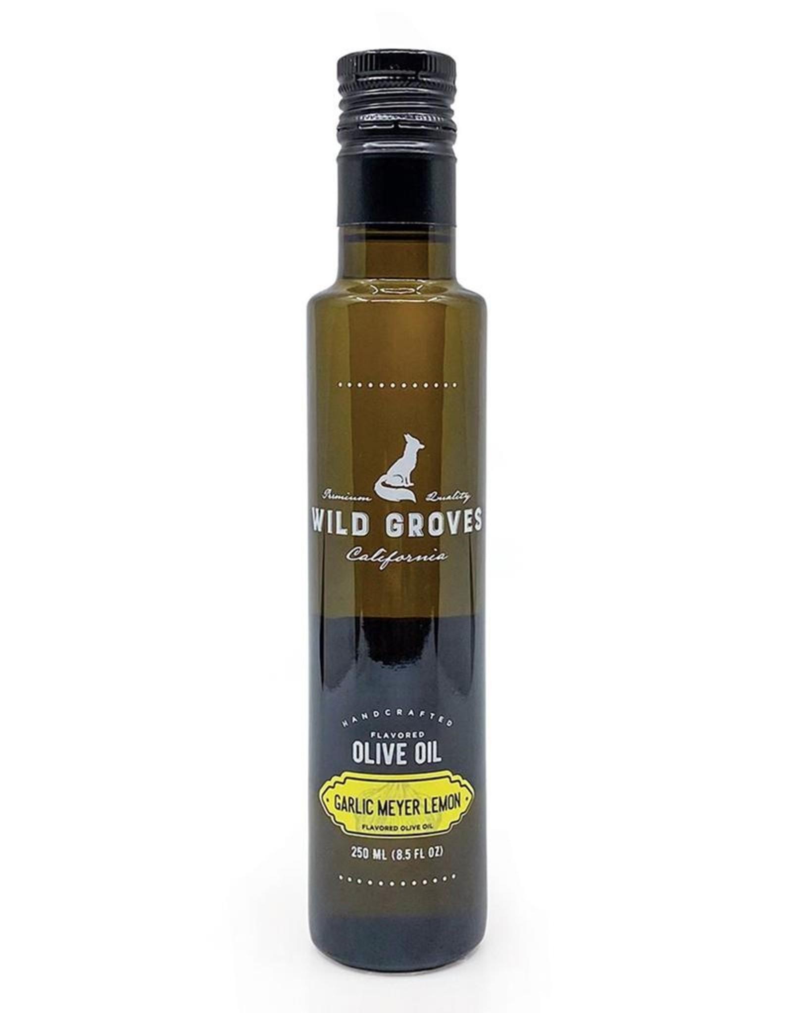 Wild Groves Wilde Groves Garlic Meyer Lemon Olive Oil 250 ML 8.5 FL OZ