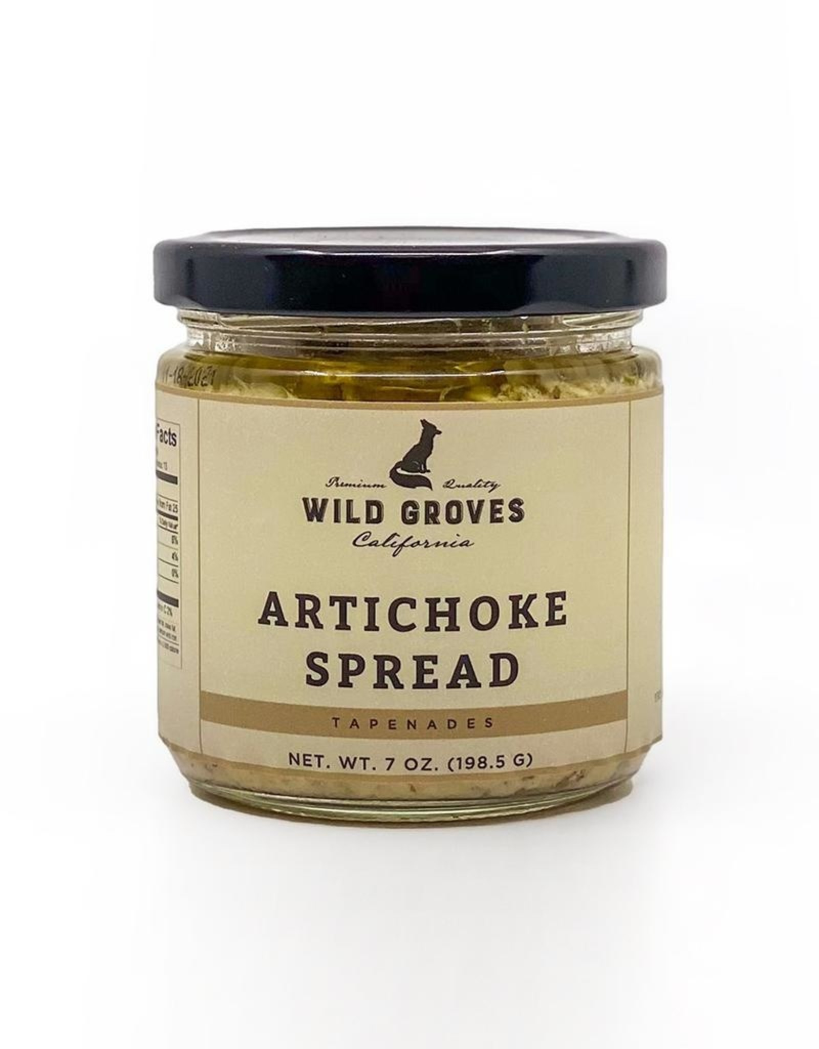 Wild Groves Wild Groves Artichoke Spread 7 OZ 198 G