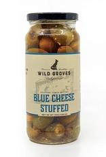 Wild Groves Wild Groves Blue Cheese Stuffed Olivs Net DR WT 10 OZ 283.5 G