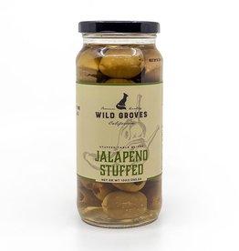 Wild Groves Wild Groves Jalapeno Stuffed Olivs 10 OZ 283.5 G