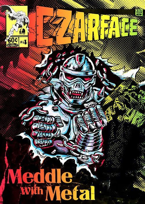 "Czarface - Man's Worst Enemy - Vinyl, 7"", 45 RPM, Limited Edition, + Comic book"