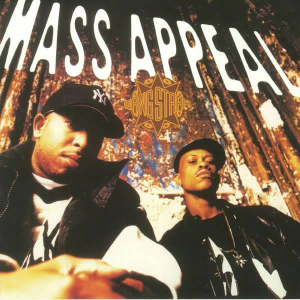 "Gang Starr - Mass Appeal - Vinyl, 7"", 45 RPM, Single, Reissue"