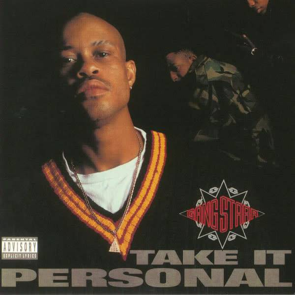 "Gang Starr - Take It Personal - Vinyl, 7"", 45 RPM, Single, Reissue"