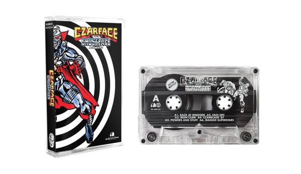 Czarface, Ghostface Killah - Czarface Meets Ghostface Instrumentals - Cassette, Album