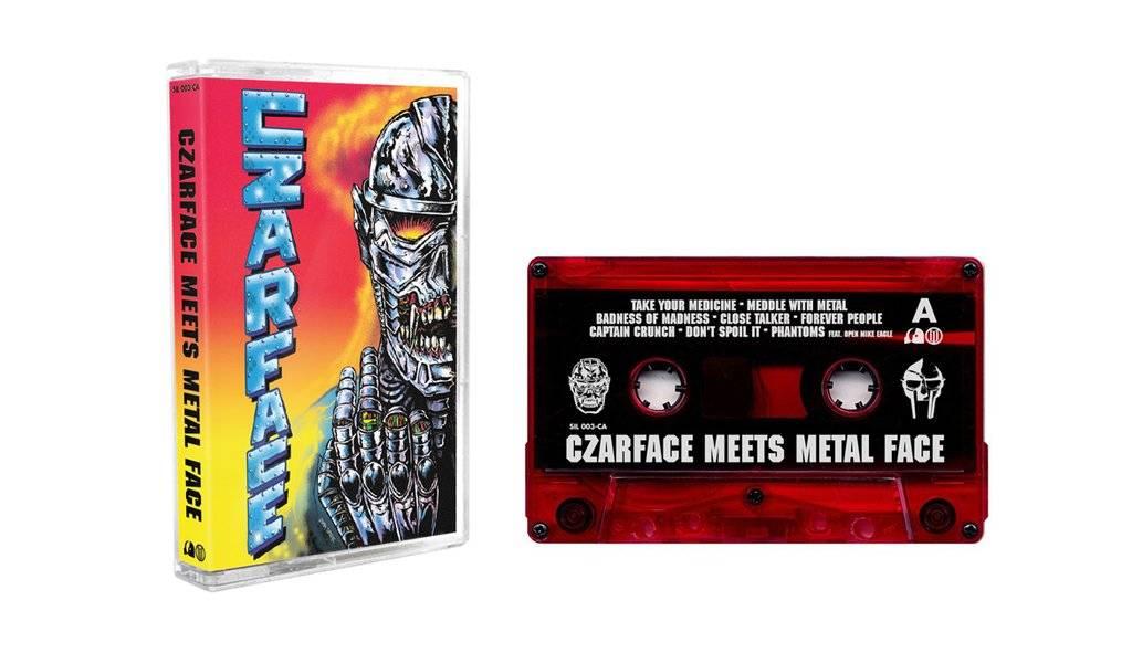 Czarface, MF Doom - Czarface Meets Metal Face - Cassette, Album, Red