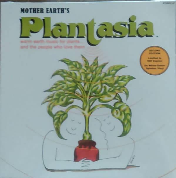 Mort Garson - Mother Earth's Plantasia - Vinyl, LP, Album, Limited Edition, Reissue, White-Green Splatter Vinyl