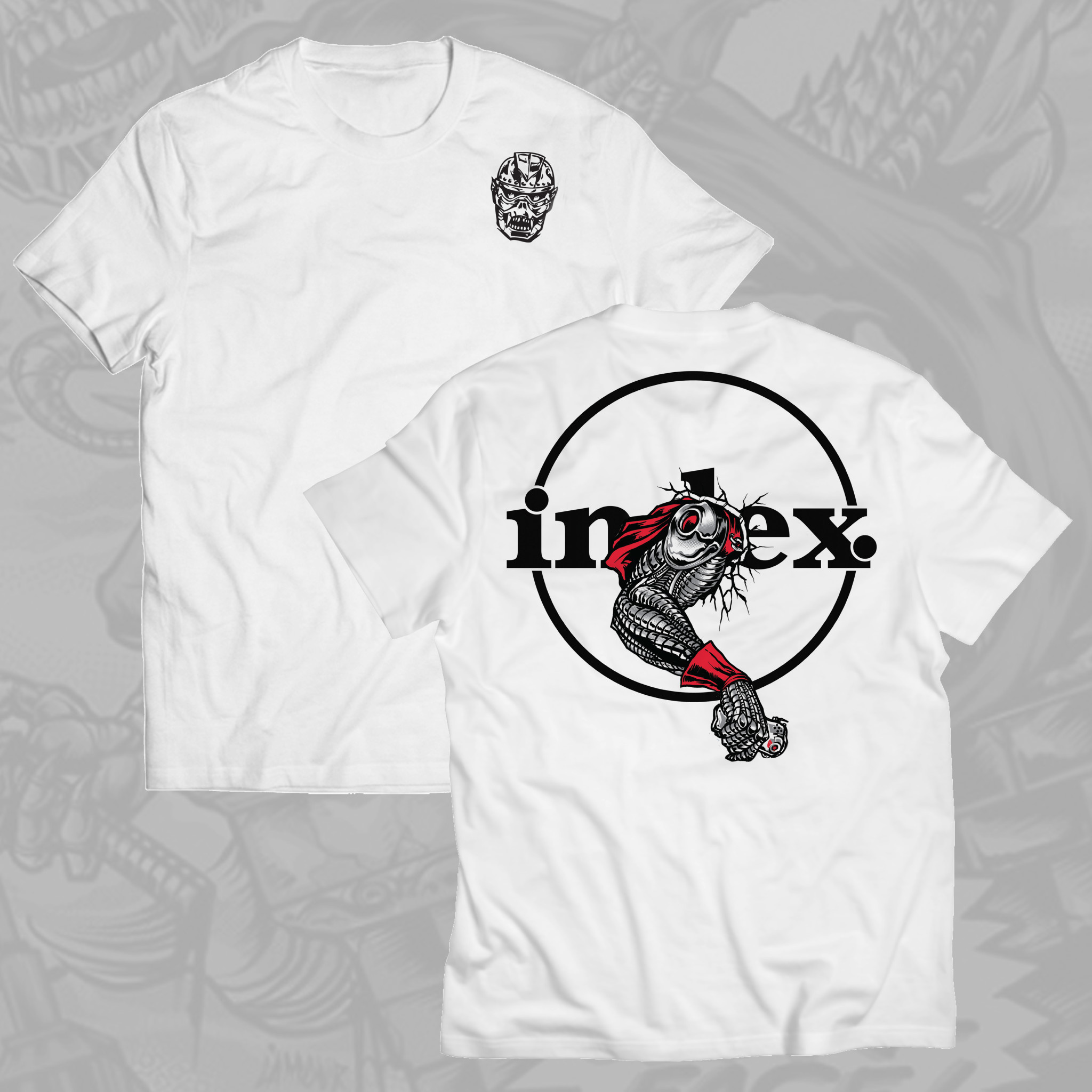 "vinyl index. - CZARFACE ""Call Me"" Edition - T-Shirt"