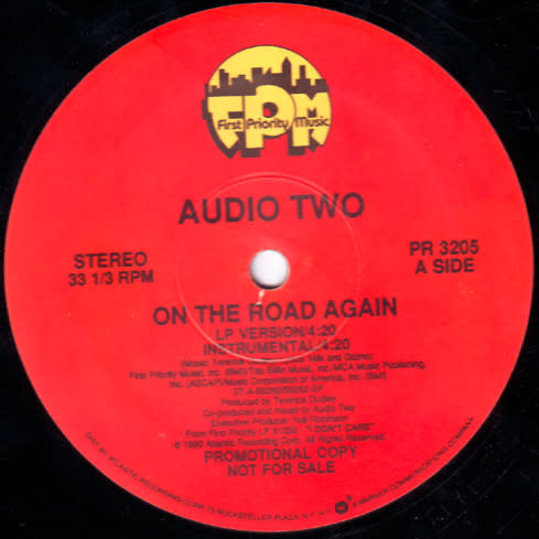 """First Priority Music Audio Two - On The Road Again - Vinyl, 12"""", 33 ⅓ RPM, Promo - 366662313"""