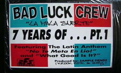 """Bad Luck Crew (2) - La Mala Suerte 7 Years Of... Pt. 1 - Vinyl, 12"""", EP - 366666998"""