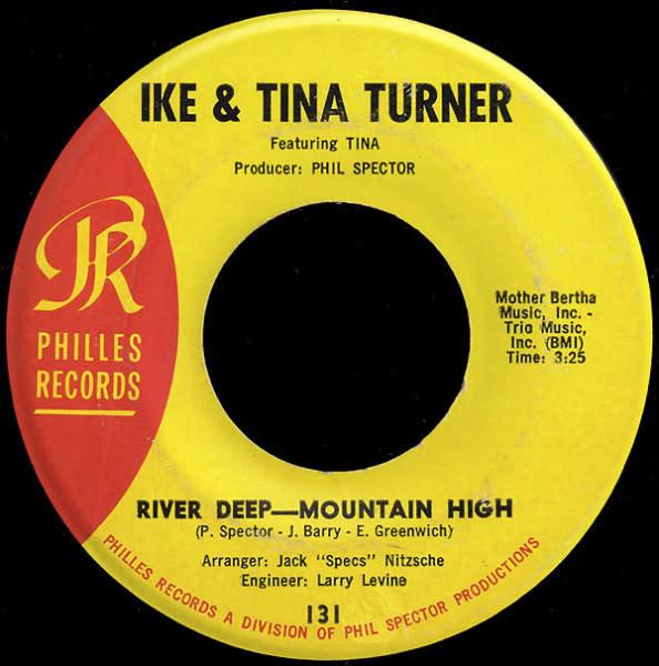 "Ike & Tina Turner, Tina Turner - River Deep - Mountain High / I'll Keep You Happy - Vinyl, 7"", Single, 45 RPM - 346870279"