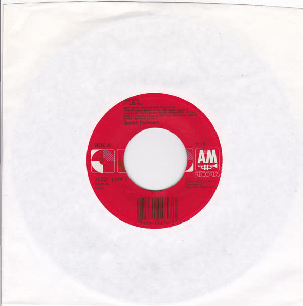 "A&M Records Janet Jackson - Alright - Vinyl, 7"", 45 RPM, Single - 297066233"