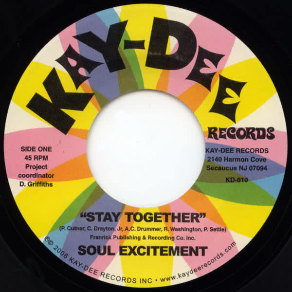 "Soul Excitement - Stay Together / Smile - Vinyl, 7"", 45 RPM, Single - 400730096"