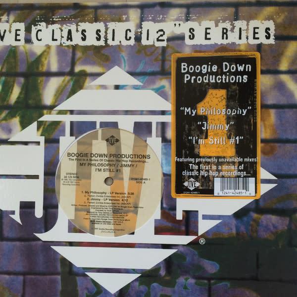 "Boogie Down Productions - My Philosophy / Jimmy / I'm Still #1 - Vinyl, 12"", 33 ⅓ RPM - 353009578"