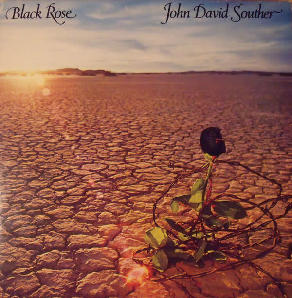 John David Souther - Black Rose - Vinyl, LP, Album, CP - Pitman Pressing, Gatefold - 356899140