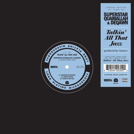 """Superstar Quamallah, Deqawn - Talkin´ All That Jazz - Vinyl, 10"""", EP - 335902668"""