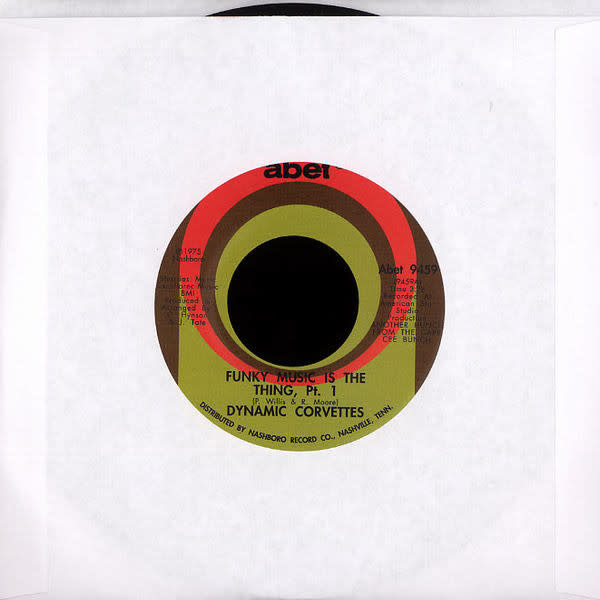 """Dynamic Corvettes - Funky Music Is The Thing - Vinyl, 7"""", Single, Reissue - 297066289"""