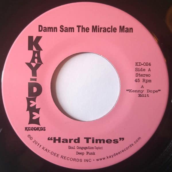"Damn Sam The Miracle Man - Hard Times (Kenny Dope Edit) - Vinyl, 7"", 45 RPM, Single - 400730901"