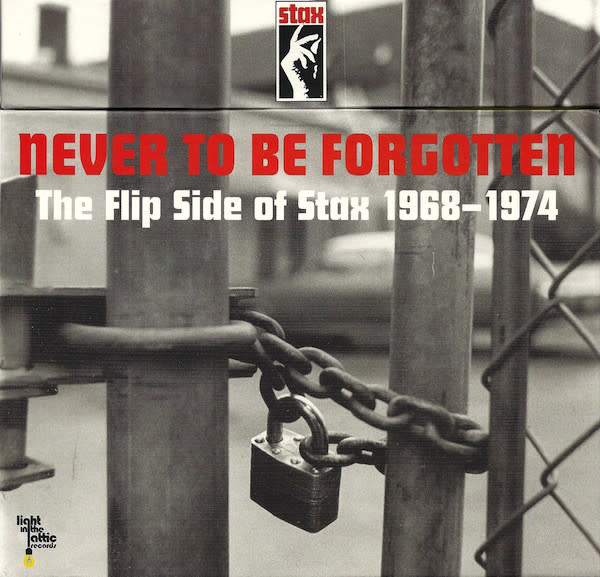 """Various - Never To Be Forgotten - The Flip Side Of Stax 1968-1974 - 10xVinyl, 7"""", 45 RPM, Single, Reissue, Remastered - 373434363"""