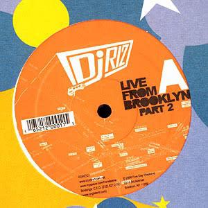 """DJ Riz - Live From Brooklyn Part 2 - Vinyl, 12"""", 33 ⅓ RPM - 385395372"""