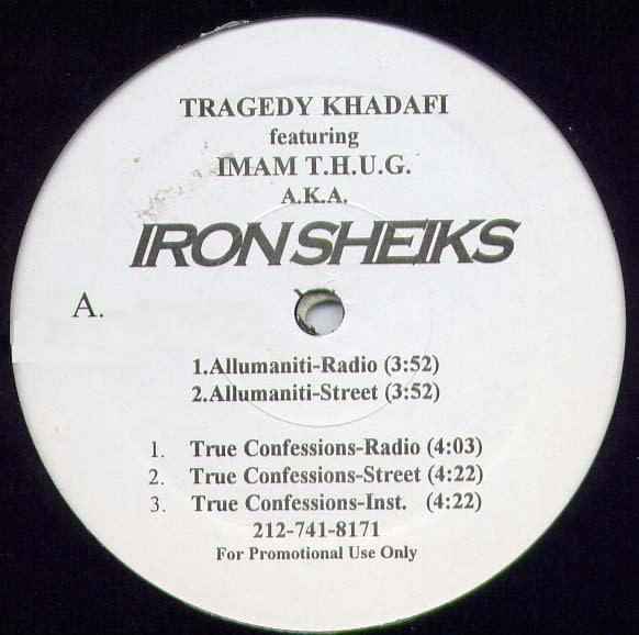 "Tragedy Khadafi, Imam Thug - Iron Sheiks - Vinyl, 12"", Promo - 398546392"