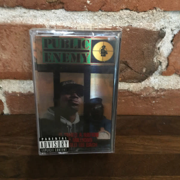 Public Enemy - It Takes A Nation Of Millions To Hold Us Back - Cassette, Album, Reissue, Black - 321992970