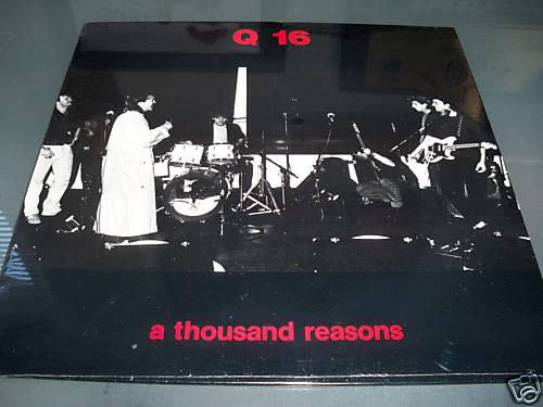 "Q 16 - A Thousand Reasons - Vinyl, 12"", Mini-Album - 401623523"