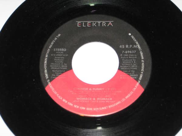 "Womack & Womack - Strange And Funny - Vinyl, 7"", Single, Stereo - 297066591"