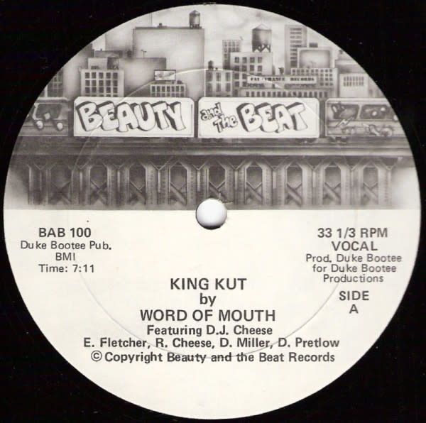 """Word Of Mouth (2), DJ Cheese - King Kut - Vinyl, 12"""", 33 ⅓ RPM - 356891876"""