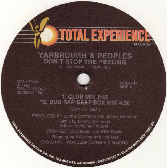 """Yarbrough & Peoples - Don't Stop The Feeling - Vinyl, 12"""" - 359484780"""