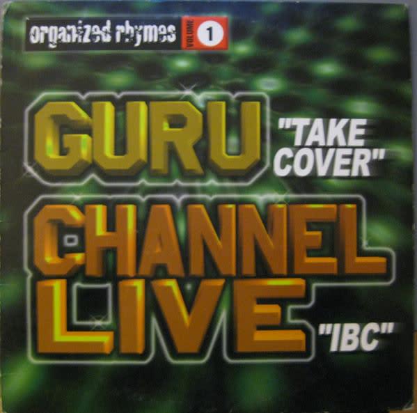 "Guru, Channel Live - Organized Rhymes Volume 1 - Vinyl, 12"" - 353020909"