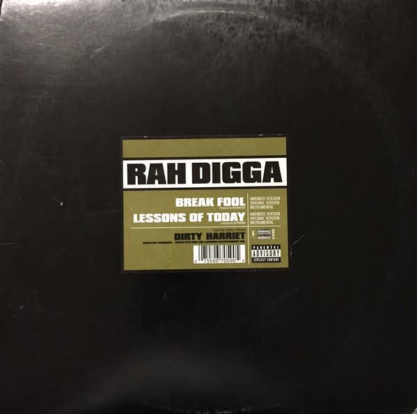 """Rah Digga - Break Fool / Lessons Of Today - Vinyl, 12"""" - 414394979"""