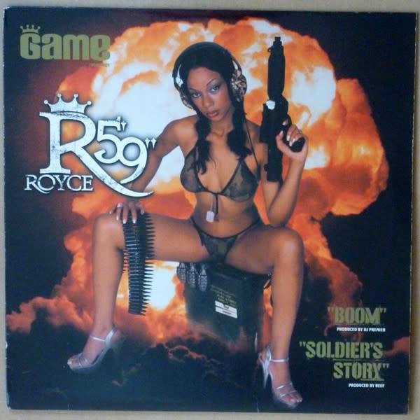 "Royce Da 5'9"" - Boom / Soldier's Story - Vinyl, 12"", 33 ⅓ RPM - 419606195"