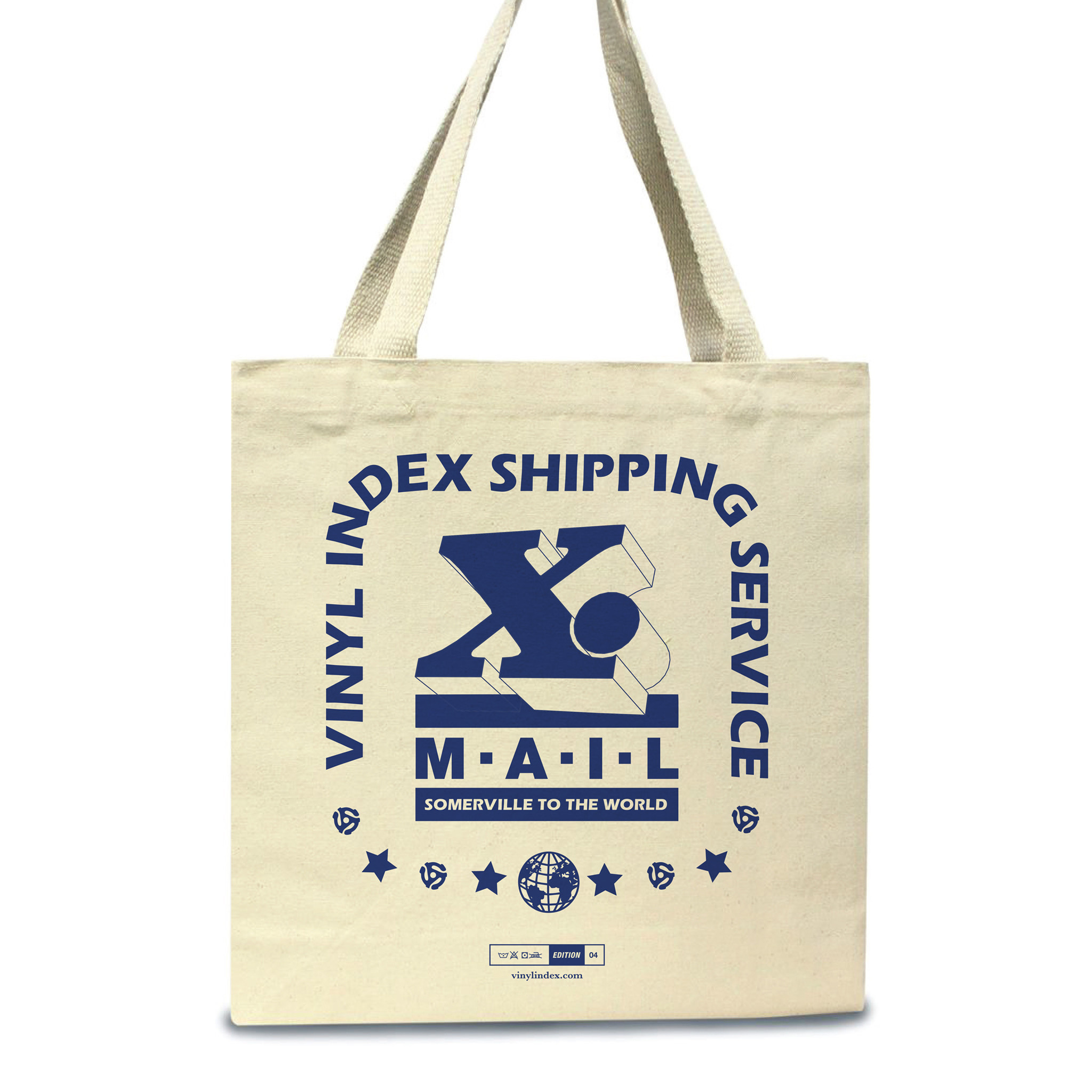 vinyl index. - 04 (Worldwide Edition) - Tote Bag - Natural