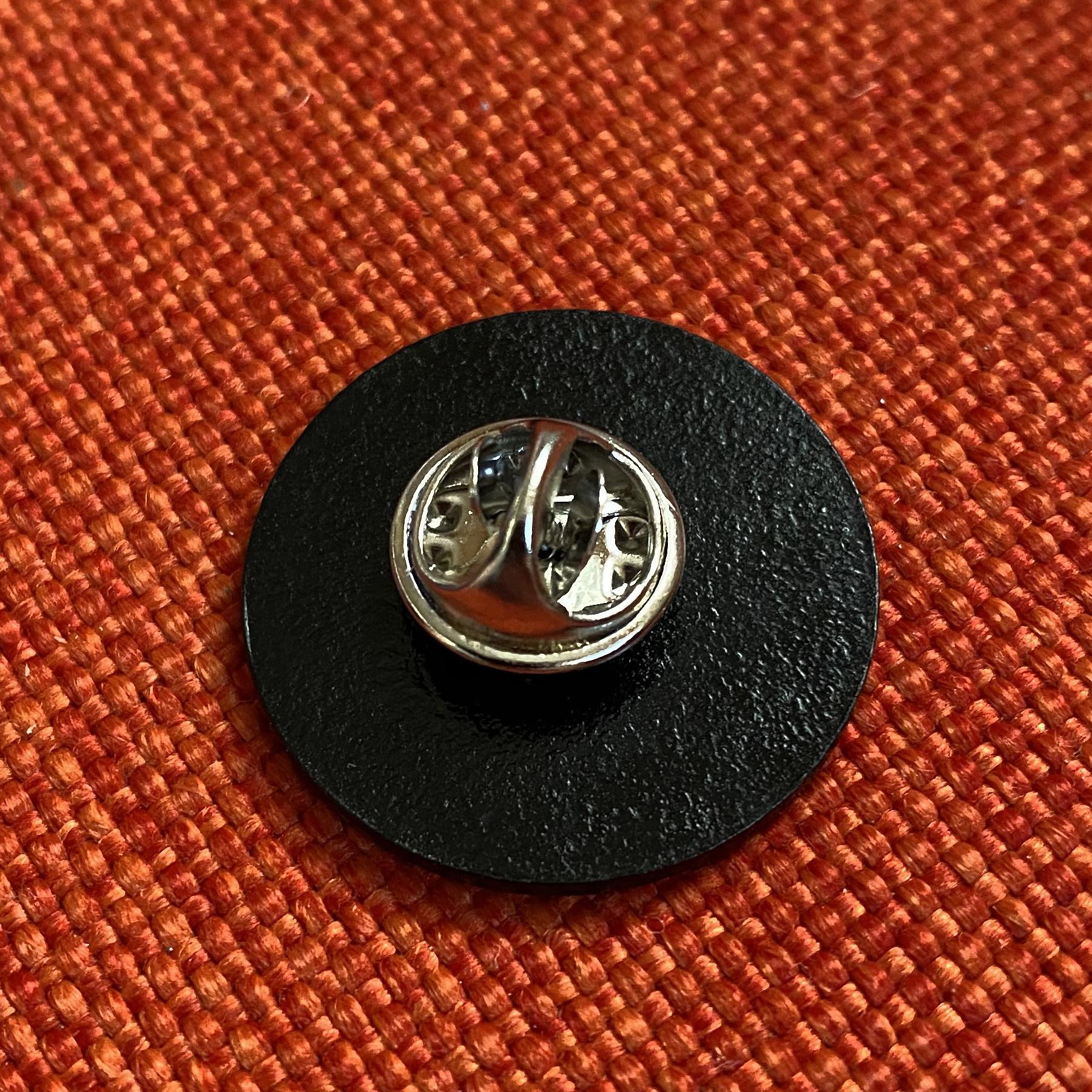 vinyl index. - Logo - Soft Enamel Pin, Black