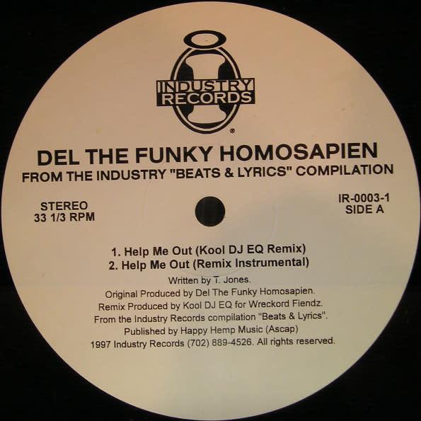 "Del Tha Funkee Homosapien, Ed O.G - Help Me Out / I Feel You - Vinyl, 12"", 33 ⅓ RPM - 416443621"