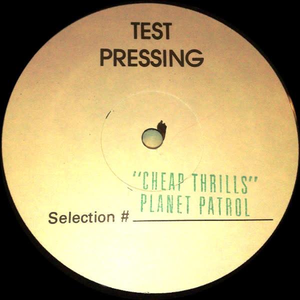"Tommy Boy Planet Patrol - Cheap Thrills - Vinyl, 12"", 45 RPM, Test Pressing - 433614903"