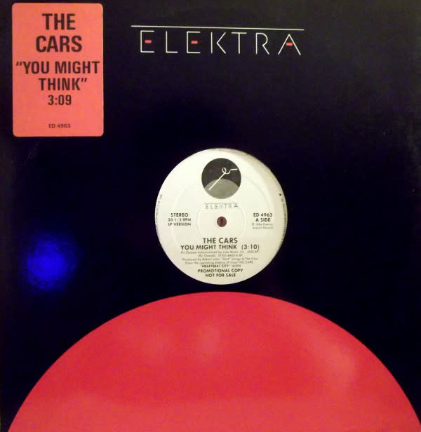 """The Cars - You Might Think - Vinyl, 12"""", 33 ⅓ RPM, Promo - 433861321"""